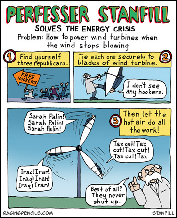 how to solve the energy crisis cartoon