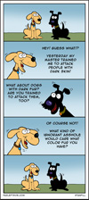 are dogs racist?