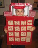 calculator halloween costume