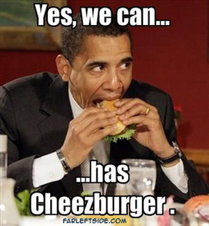 obama can has cheezeburger