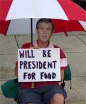 will be president for food